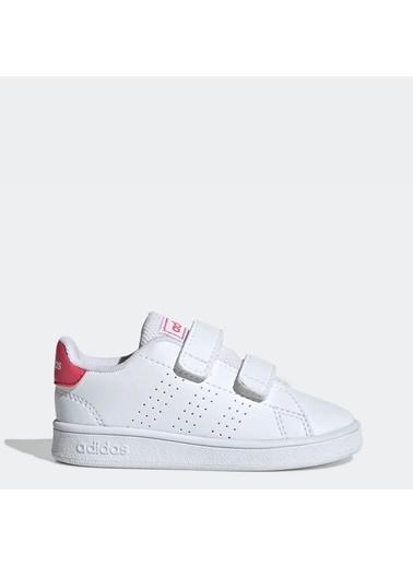 adidas Unisex Bebek Advantage Spor Ayakkabı EF0300 Beyaz